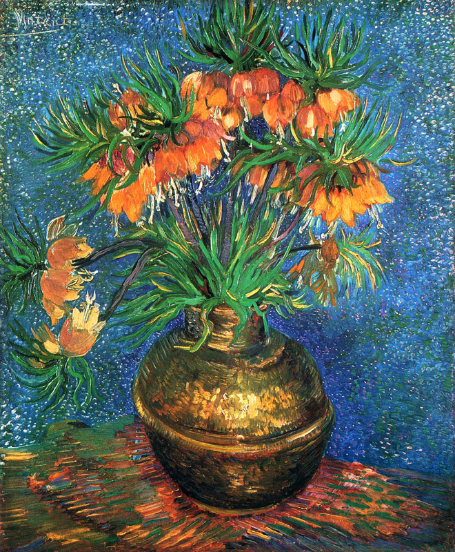 Fritillaries in a Copper Vase, 1887
