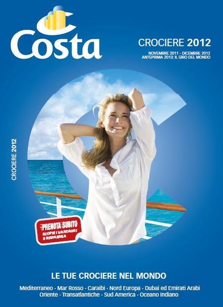 Ecco il nuovo catalogo costa crociere 2012 le novit for Nuovo arredo andria catalogo