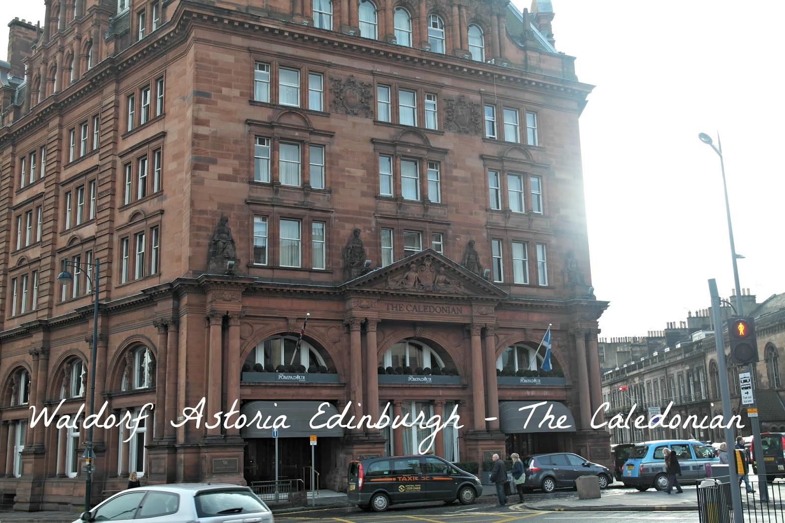 Waldorf Astoria Edinburgh - The Caledonian review