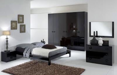 siyah+otel+konsepti+yatak+odasi+takimi Yeni Trend Yatak Odası Takımları