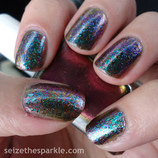 Duochrome Layering Nails