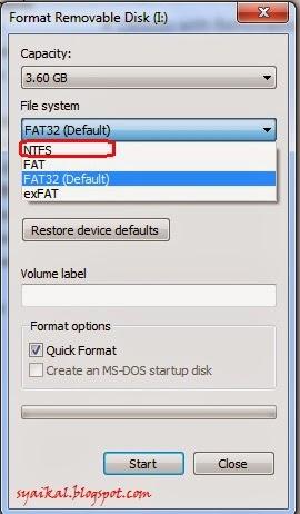 flash+disk+format cara membuat flashdisk boot Untuk windows 7 atau windows 8