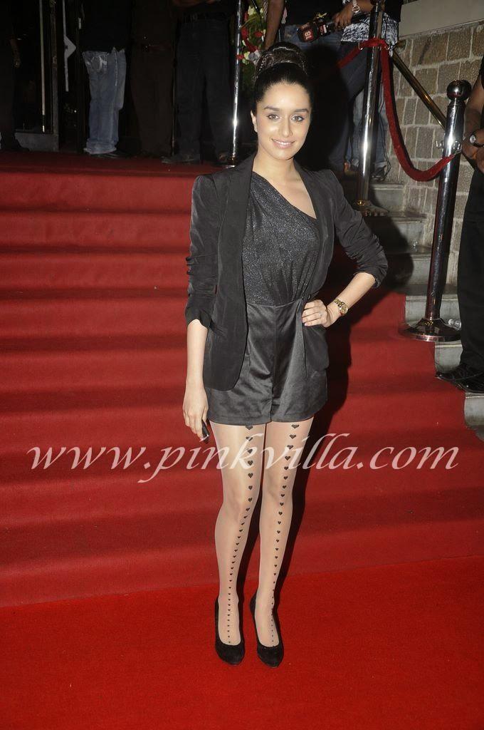 Shraddha Kapoor black sexy