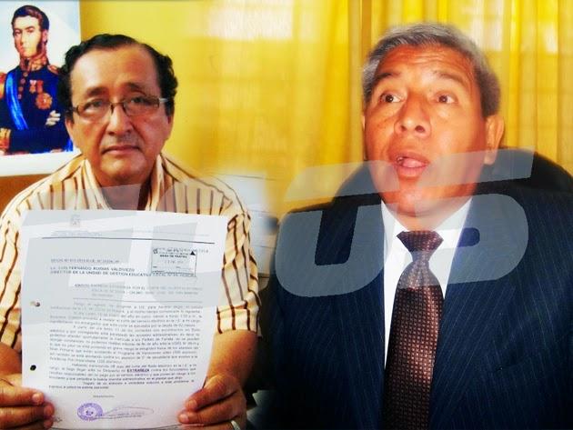 Director de la UGEL de Huaura fue denunciado por abuso de autoridad