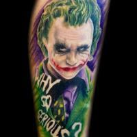 Fotos de Tatuagens do Coringa