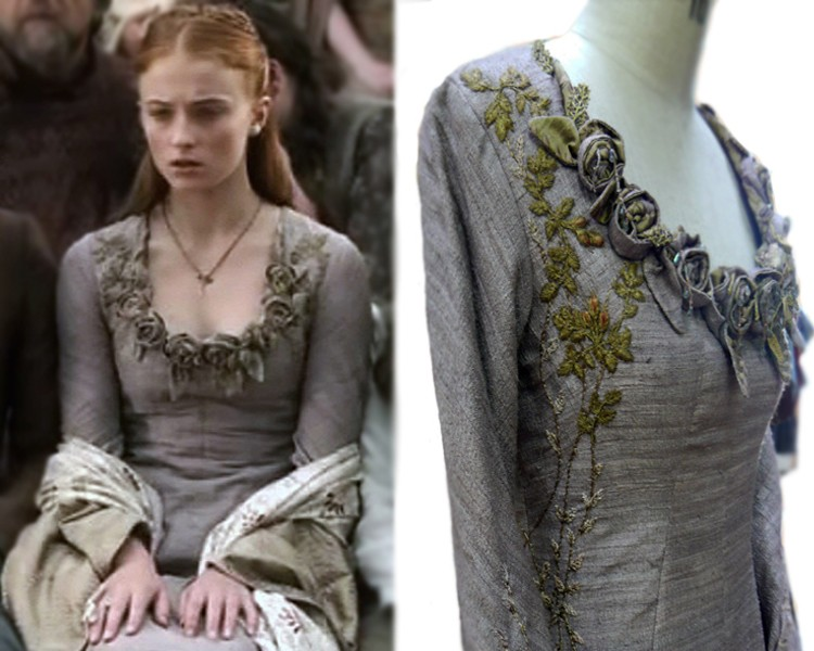 Game of clothes michele carragher game of thrones for Game of thrones dress shirt