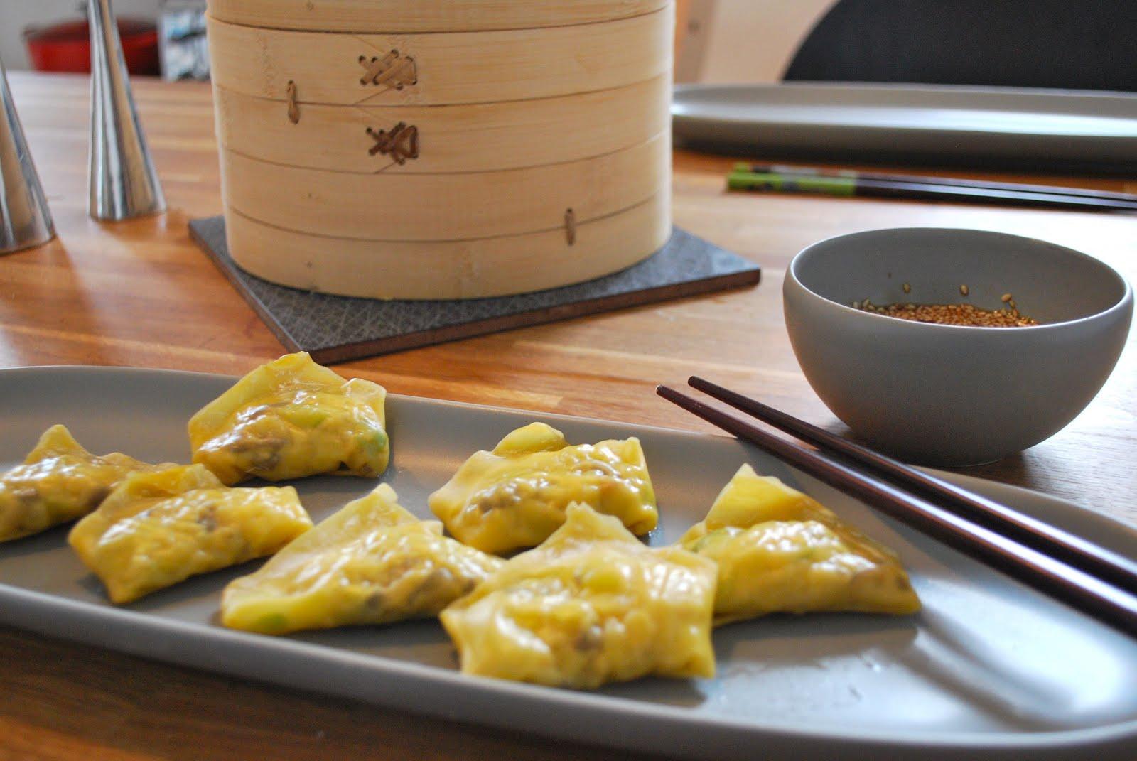 vegetariska dumplings ica
