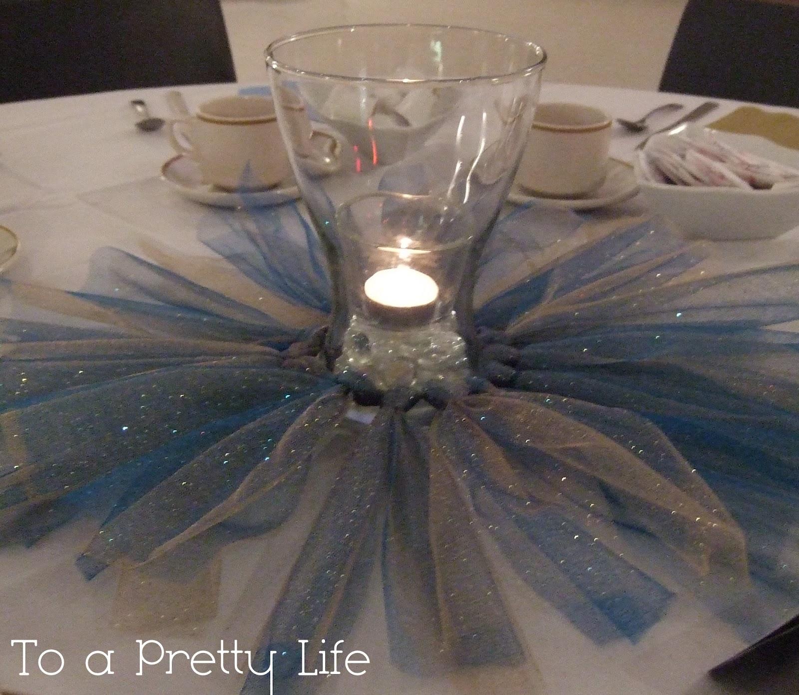To A Pretty Life Princess Tutu Centrepieces