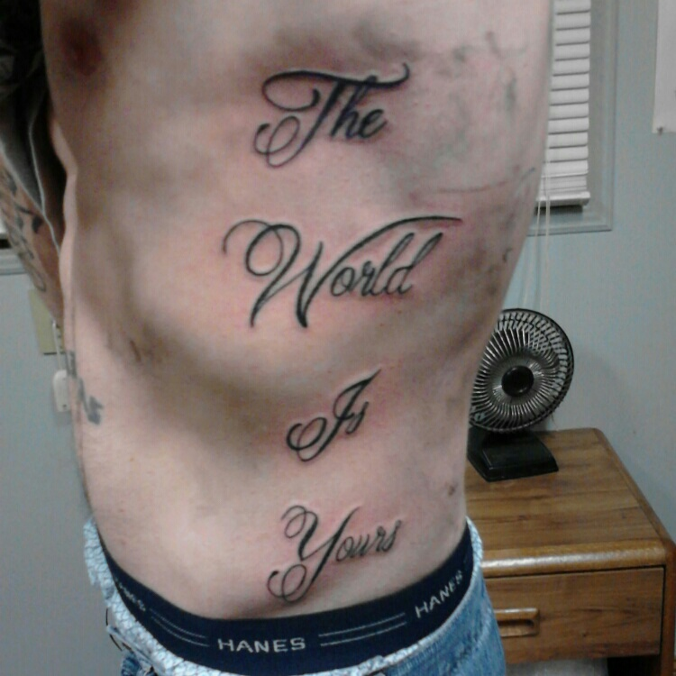 Scarface Quote Tattoos