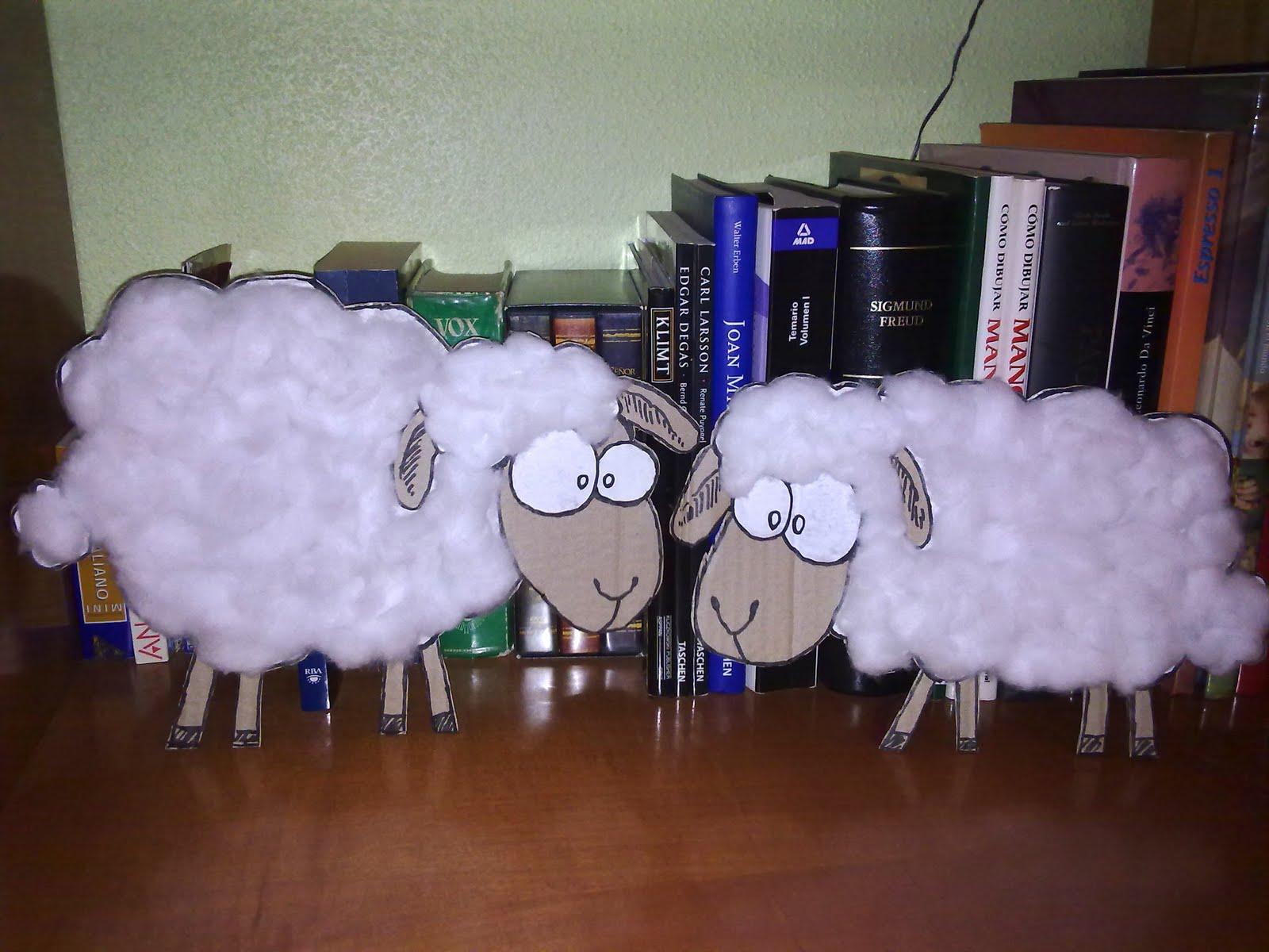 Como hacer una oveja imagui - Como hacer una oveja ...