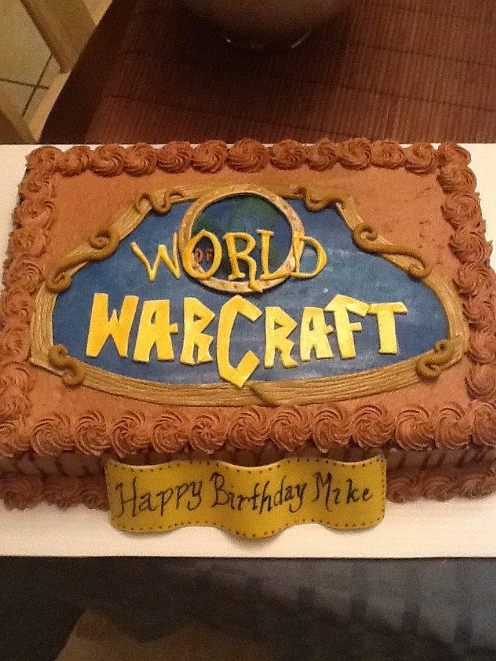 Cakes By Nichole: World of Warcraft Cake