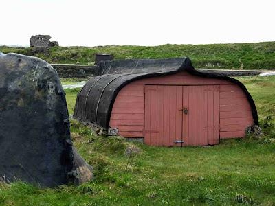 Ship hut, Lindisfarne