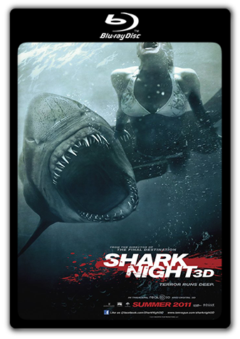 Shark Night (2011) 720p BRRip Dual Audio 700MB