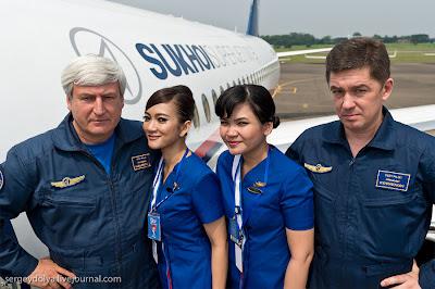 Foto-foto Kru & Kondisi Sukhoi Superjet 100 Sebelum Jatuh