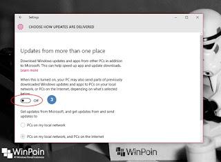 mematikan peer to peer di windows 10