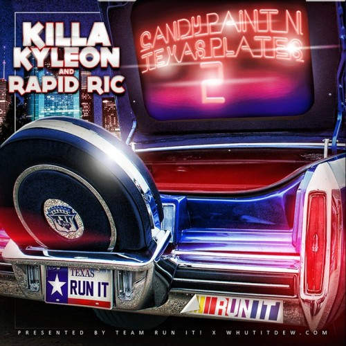 killa kyleon candy paint texas plates 2