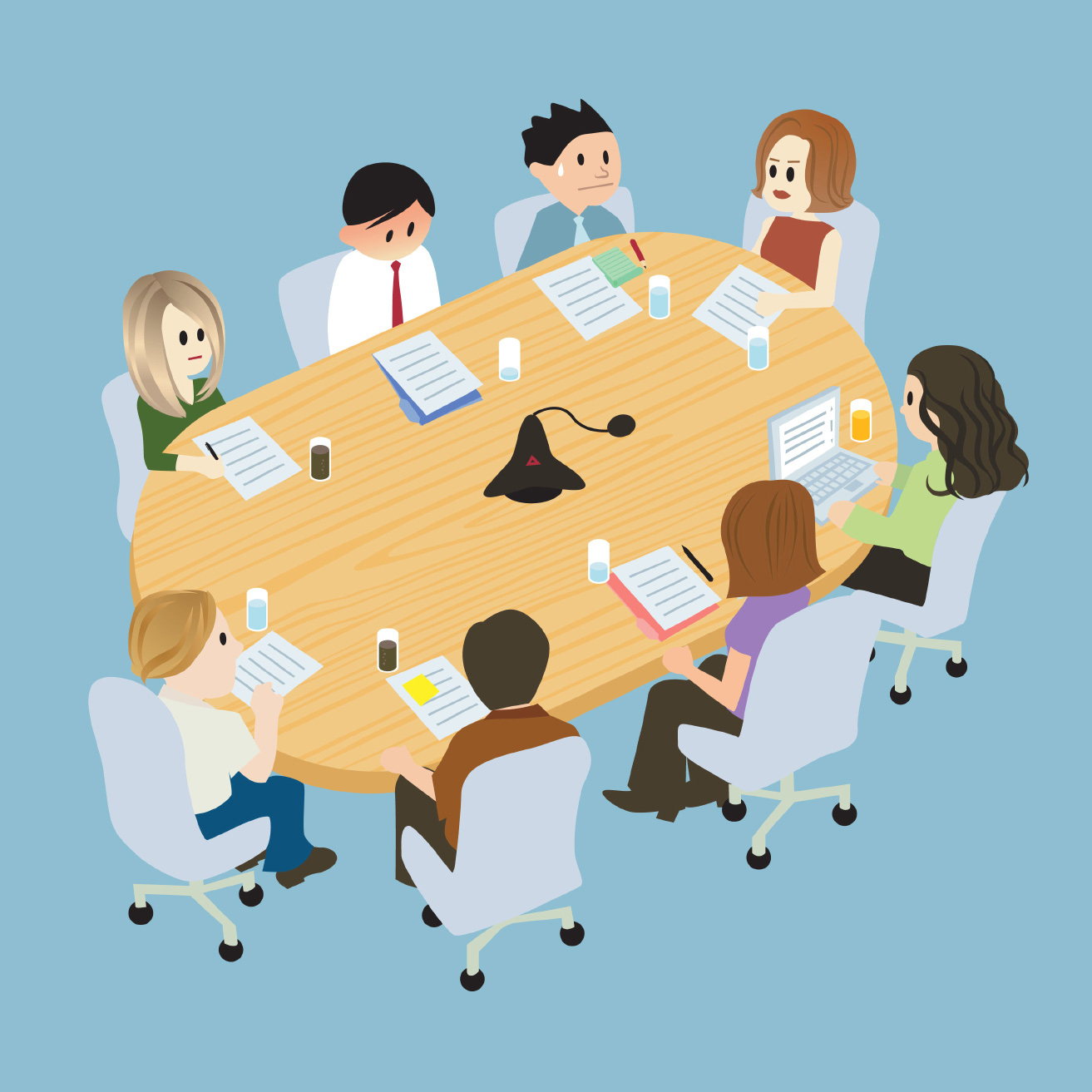 how to prepare meetings online