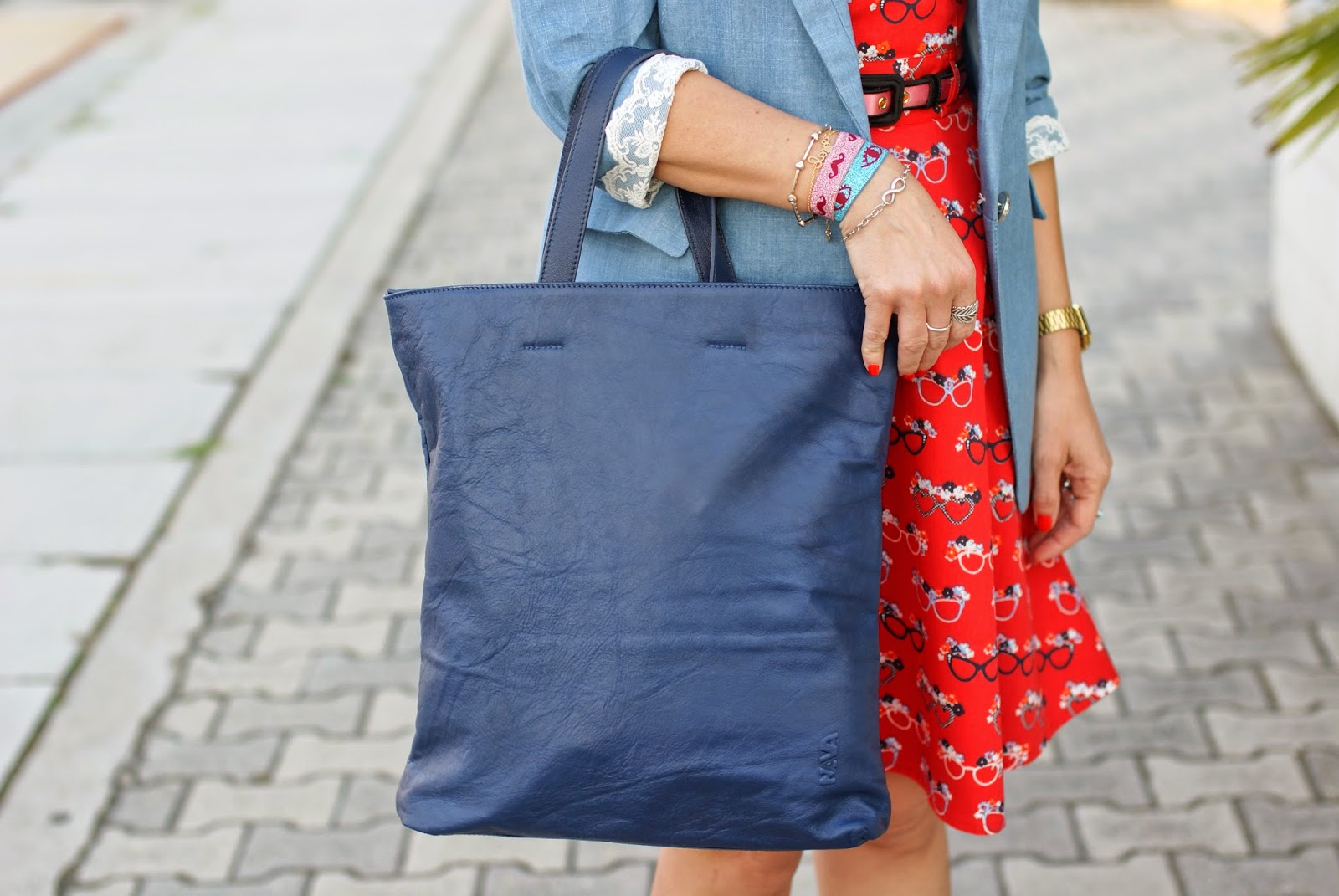 Nava Design shopper bag, Fashion and Cookies, fashion blogger