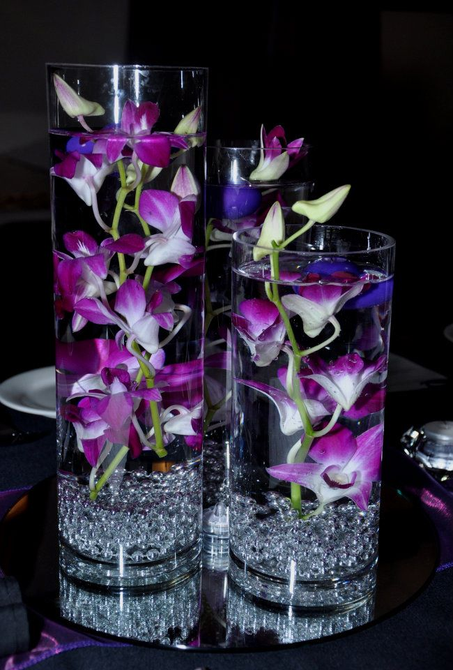 The wedding gurus diy orchid centerpiece