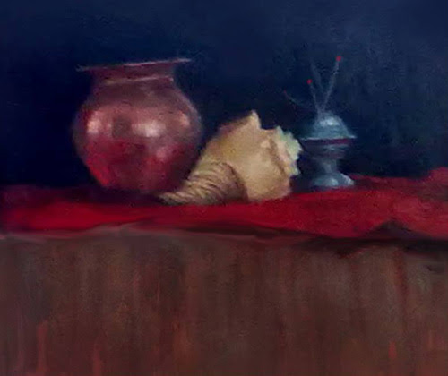 still life painting by Abhay Tawde
