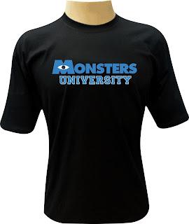 Camiseta Monsters University