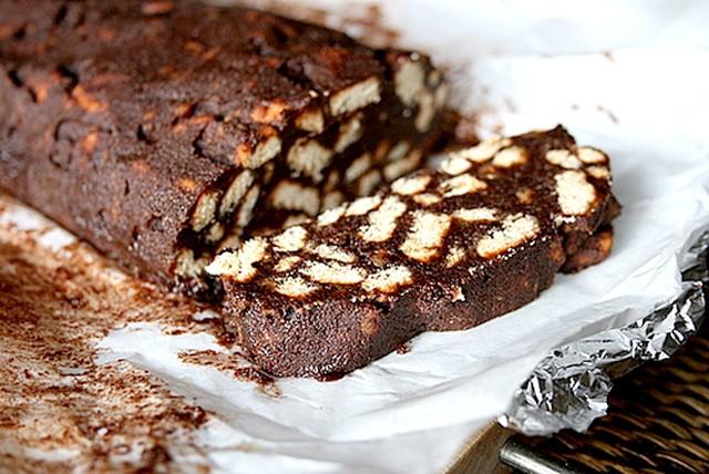 Salame di Cioccolato: Ricetta