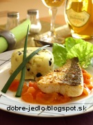 Zubáč na paradajkovom masle - recept