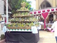 Melihat Tradisi Ampyang Maulid Di Loram Kulon Kudus