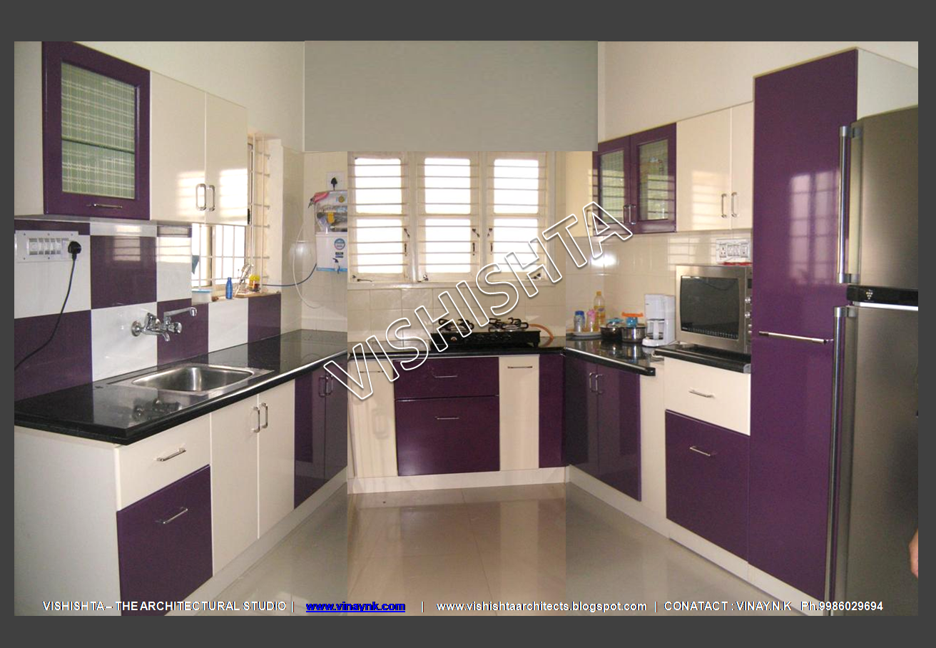 Modular Kitchen Home Christmas Decoration