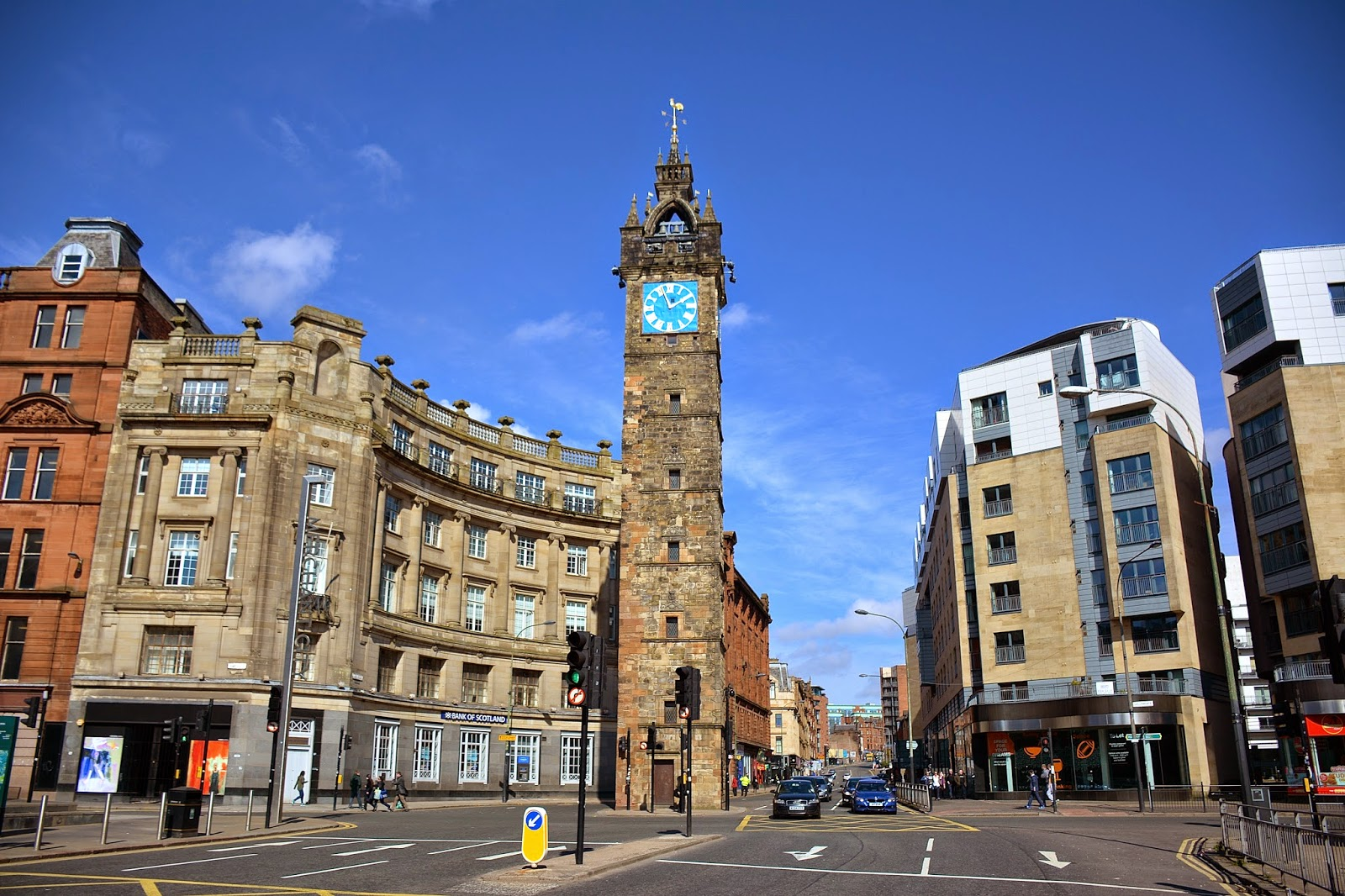 Tolbooth Steeple in Glasgow