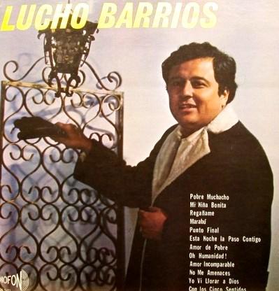 Lucho Barrios mas joven