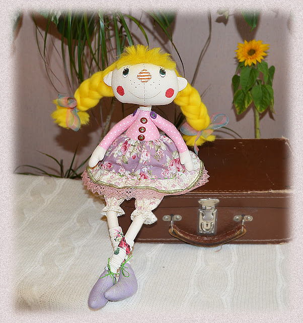 кукла с заплаткой