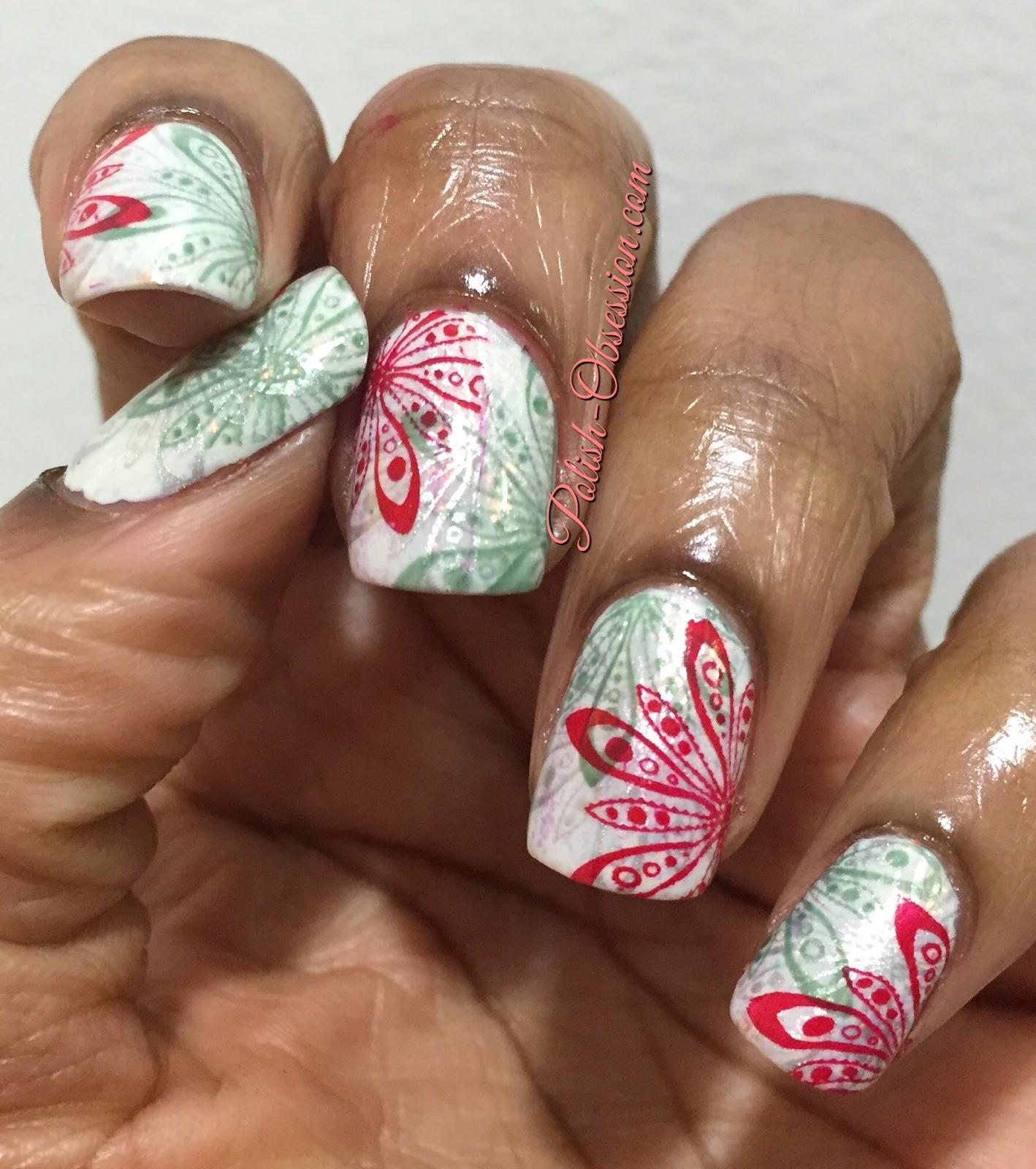 Nail Polish Canada Holiday 2015 Nail Art Challenge Polish Obsession