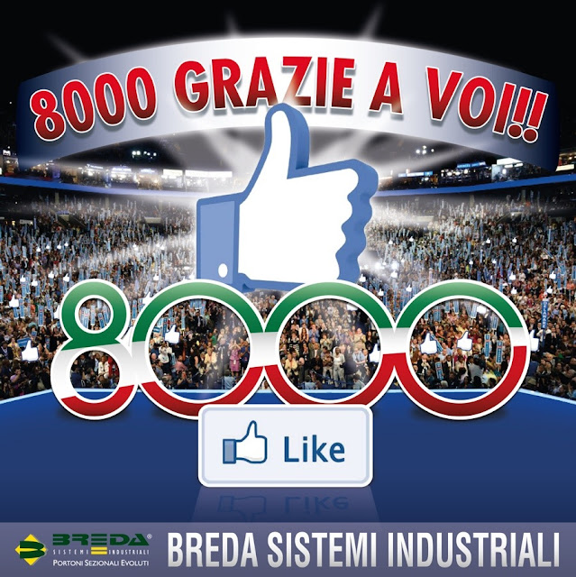 8000 Fan Breda su Facebook