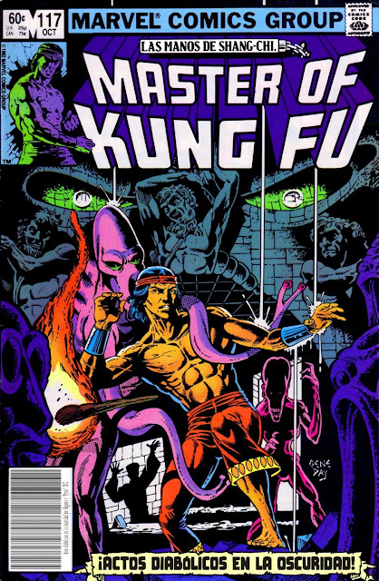 Portada de Master of Kung Fu Nº 117 traducido