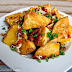 Crisp Oven Roasted Potatoes With Bacon and Cheese