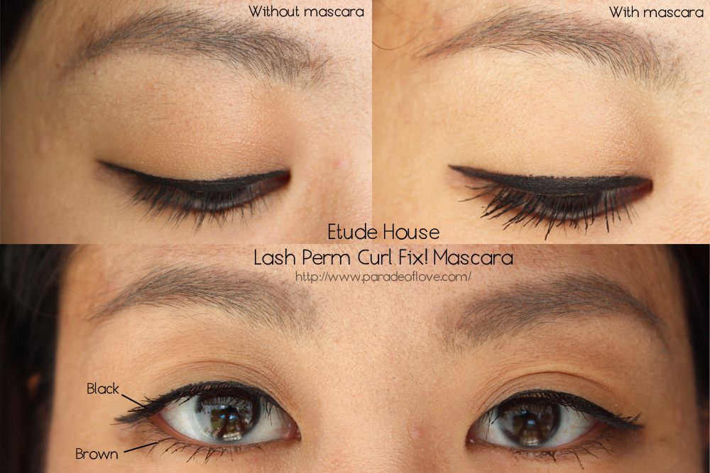 Curl It Up With Etude Houses Lash Perm Curl Fix Mascara Review