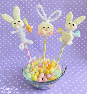 Marshmallow konijntjes
