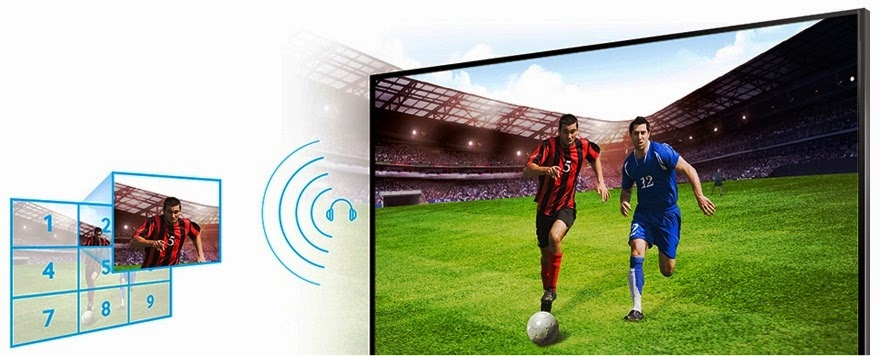 Soccer Mode LED TV Samsung Series 5 40 Inch UA-40H5100