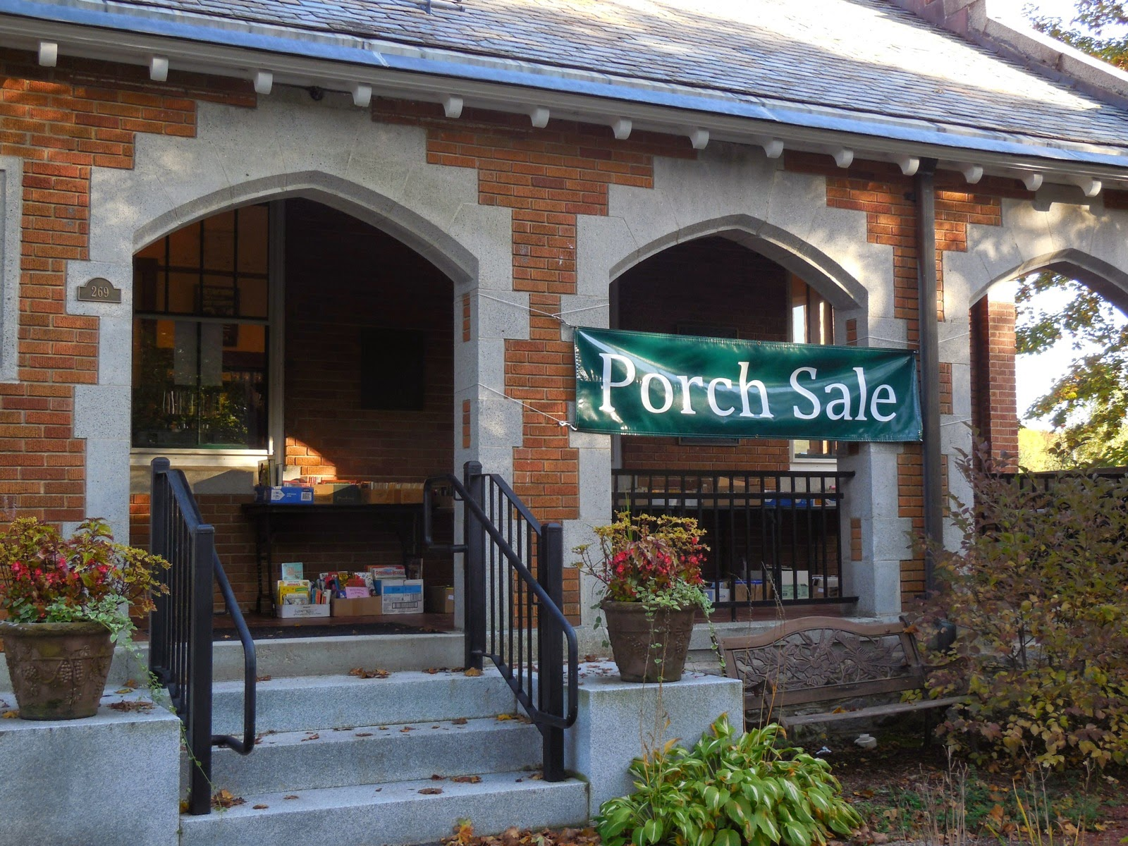 Annual 24/7 Porch Book Sale October 3-18, 2015