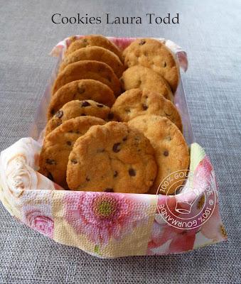 100 gourmande la vraie recette des cookies laura todd - Recette cookies laura todd ...