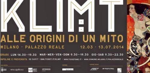 Mostra Klimt Milano 2014