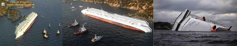 6)Гибель Коста-Конкордии - Титаника 21-го века.