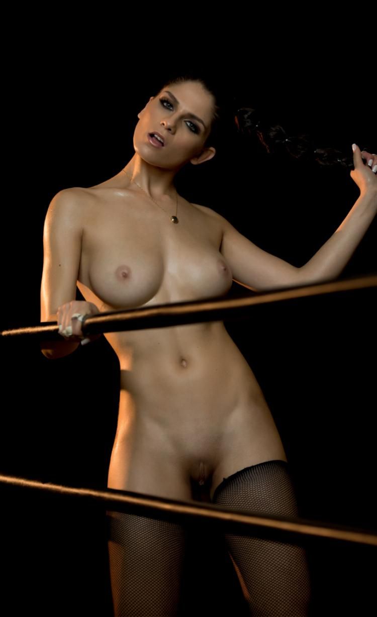 Nude mma ring girls something