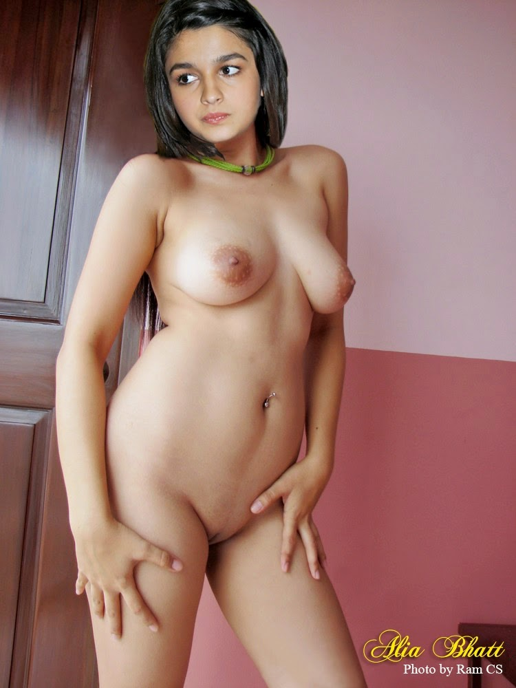 Alia Bhatt nude real photo