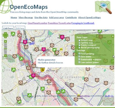 OpenEcoMaps