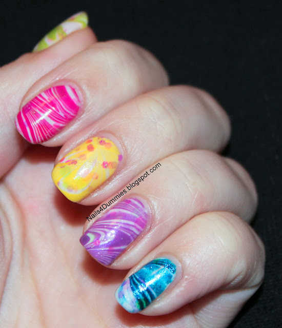 Candy Land Watermarble