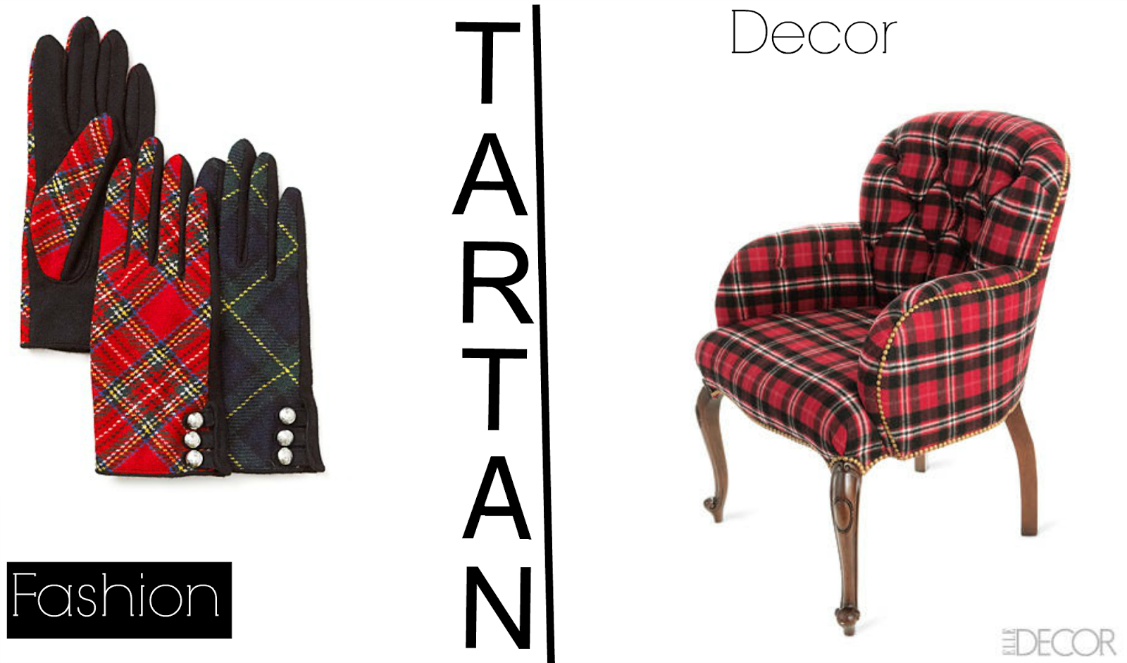 Fall 2013 Tartan Vs Plaid