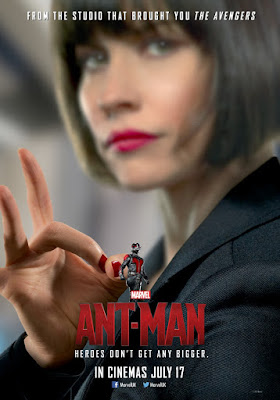 Ant-Man Character Movie Poster Set - Evangeline Lilly as Hope van Dyne