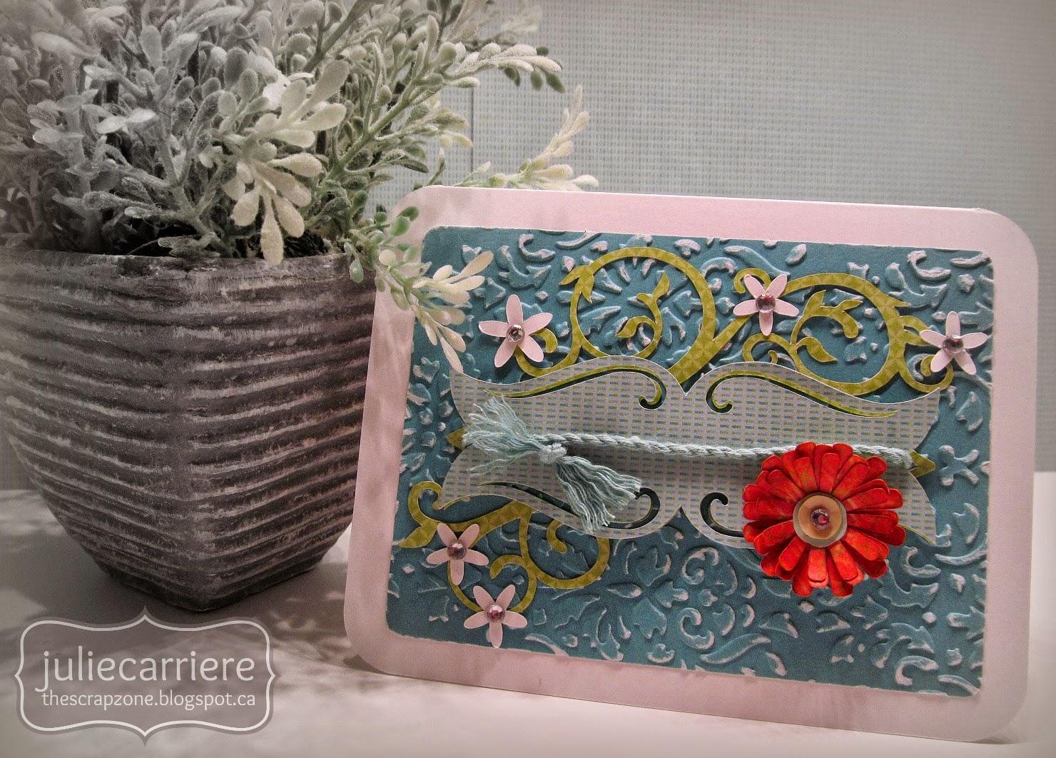 CTMH Blossom Card
